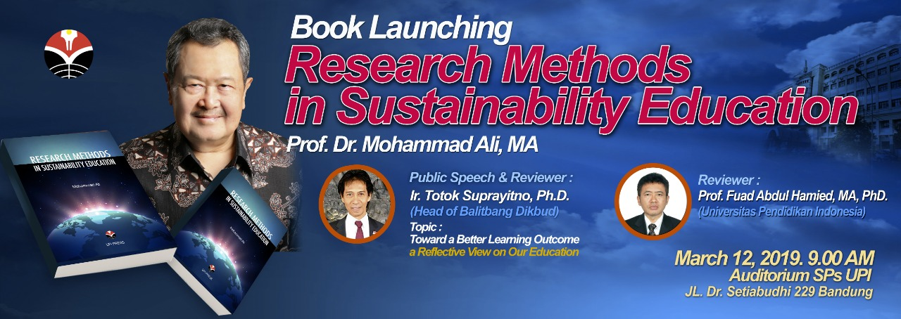 Book Launching: Research Methods in Sustainability Education